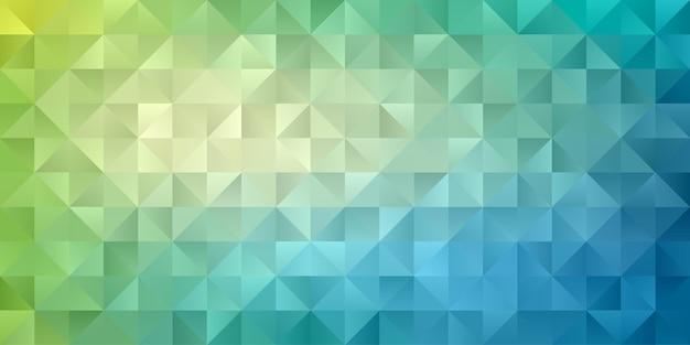 Carta da parati geometrica astratta del fondo del poligono. motivo a polly basso a forma di triangolo