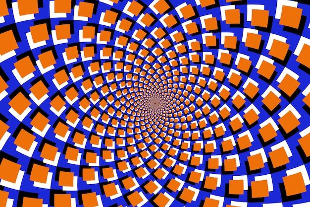 Carta da parati illusione psichedelica