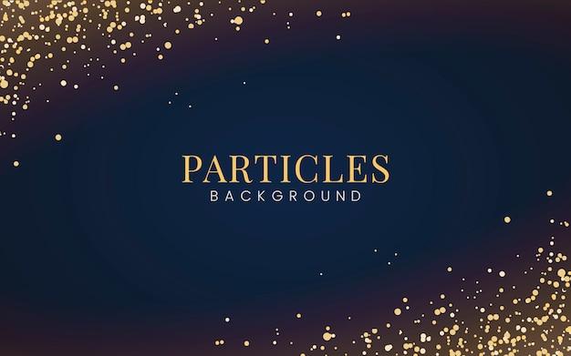 Carta da parati minimal con particelle decorative glitter dorate