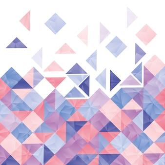 Carta da parati o fondo della geometria, illustrazione eps10 di vettore