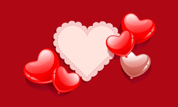 Carta da parati per san valentino