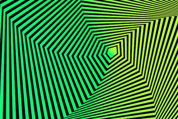 Carta da parati psichedelica con illusione ottica