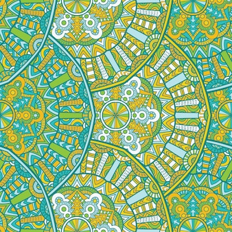 Carta da parati senza cuciture mandala vector design per la stampa. ornamento tribale.