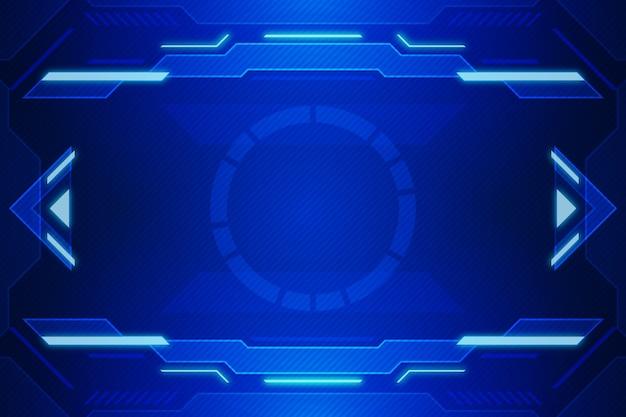 Carta da parati tecnologica