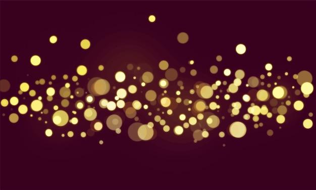 Carta da parati vaga delle luci del bokeh astratto