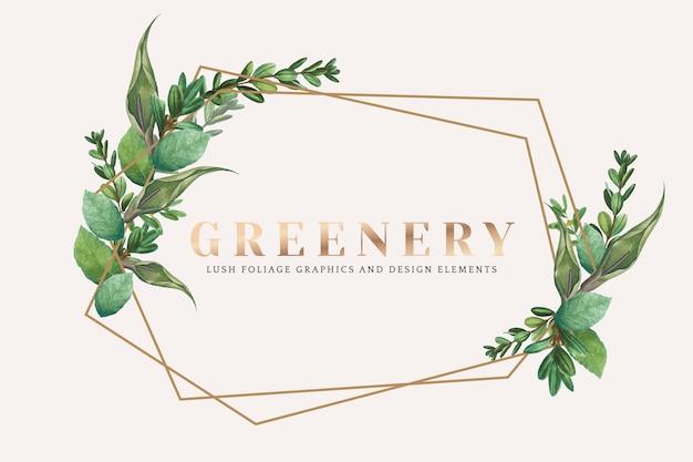Carta da parati verde
