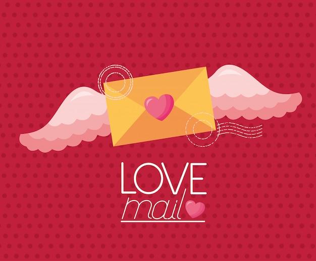 Carta del giorno di san valentino