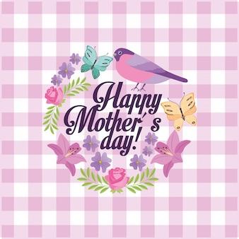 Carta della festa della mamma