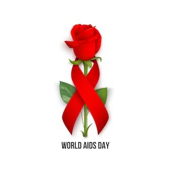 Carta della giornata mondiale dell'aids
