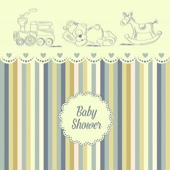 Carta di baby shower