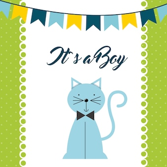 Carta di baby shower
