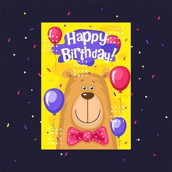 Carta di buon compleanno