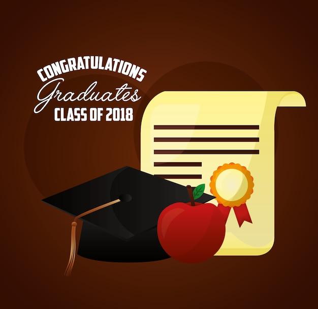 Carta di congratulazioni
