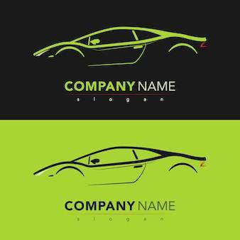 Carta di design per auto sportiva. illustrazione vettoriale.