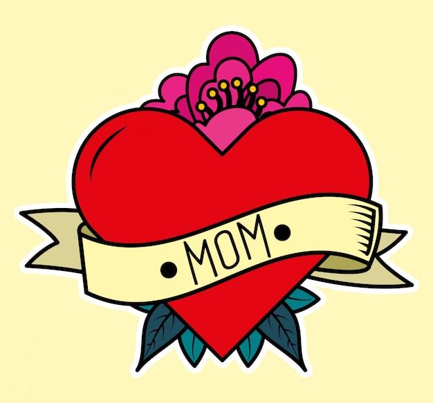 Carta di giorno della madre