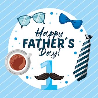 Carta di giorno di padri