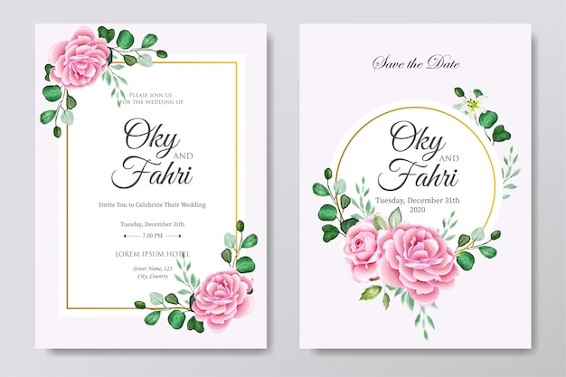 Carta di invito matrimonio bellissimo