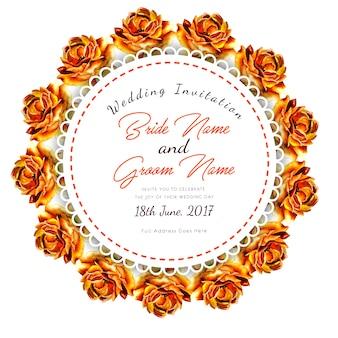 Carta di nozze