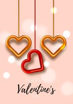 Carta di san valentino. festa romantica. speciale poster d'amore. opuscolo promozionale per san valentino.