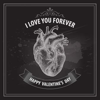 Carta di san valentino.