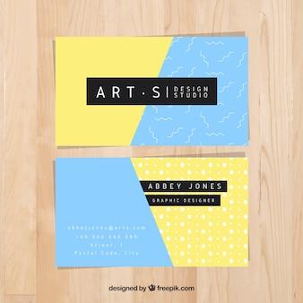 Carta di studio d'arte moderna