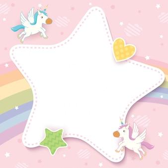 Carta di unicorno