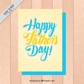 Carta gretting giorno del padre