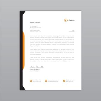 Carta intestata astratta aziendale