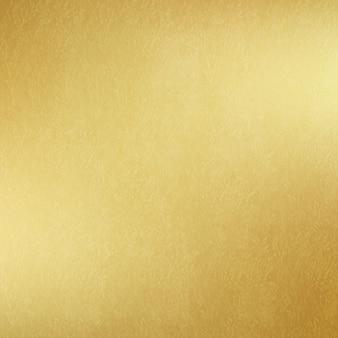 Carta lucida o metallo oro. sfondo dorato.