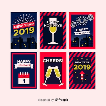 Carte 2019 del nuovo anno
