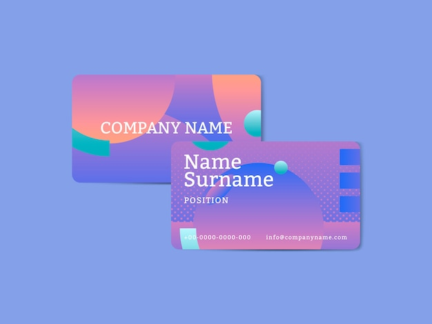 Carte dell'azienda