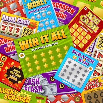 Carte della lotteria