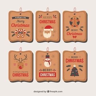 Cartellino del prezzo di Natale