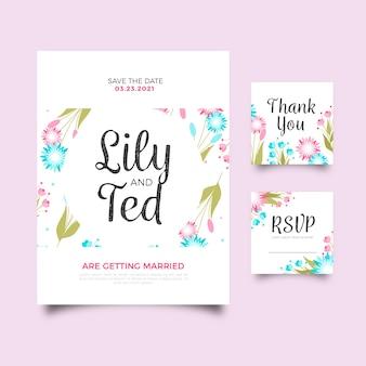 Cartoleria matrimonio colorato