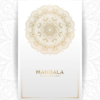 Cartolina d'auguri dell'annata dell'oro su una priorità bassa bianca