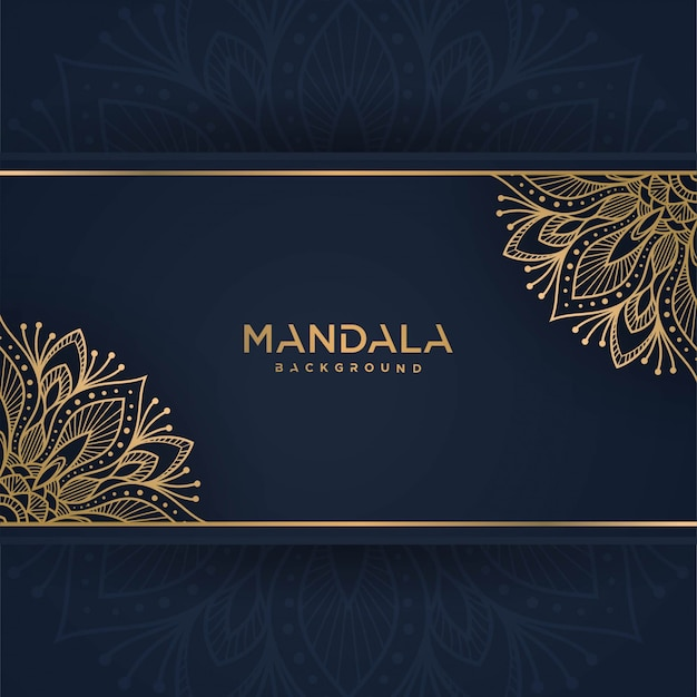 Cartolina d'auguri dell'annata dell'oro su una priorità bassa blu classica