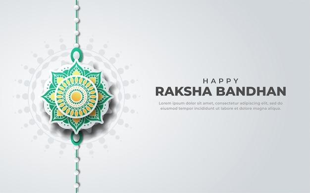 Cartolina d'auguri di felice eaksha bandhan
