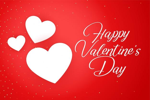 Cartolina d'auguri di felice san valentino celebrazione