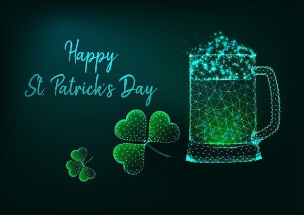 Cartolina d'auguri di happy st. patricks day