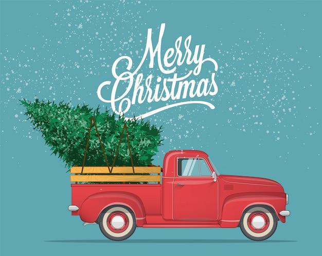 Cartolina di buon natale e felice anno nuovo