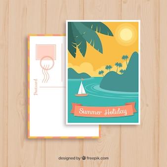 Cartolina di vacanza