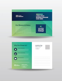 Cartolina postale aziendale