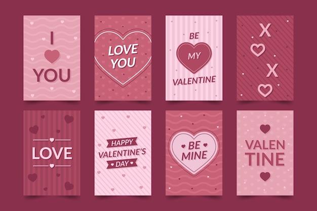 Cartoline romantiche per san valentino