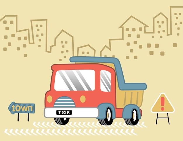 Cartone animato camion