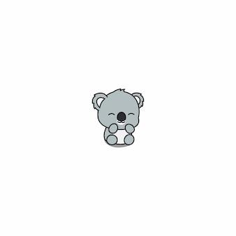 Cartone animato carino koala del bambino