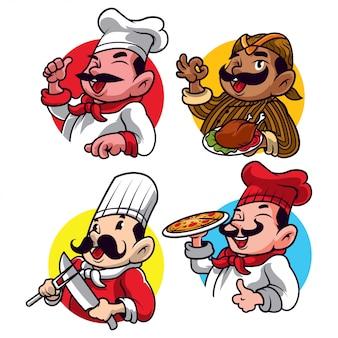 Cartone animato chef