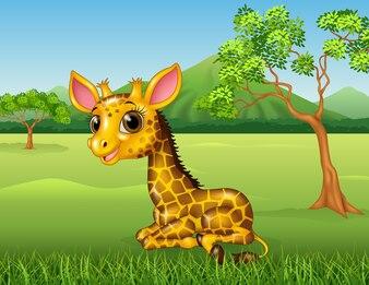 Carnevale foto e vettori gratis - Cartone animato giraffe immagini ...