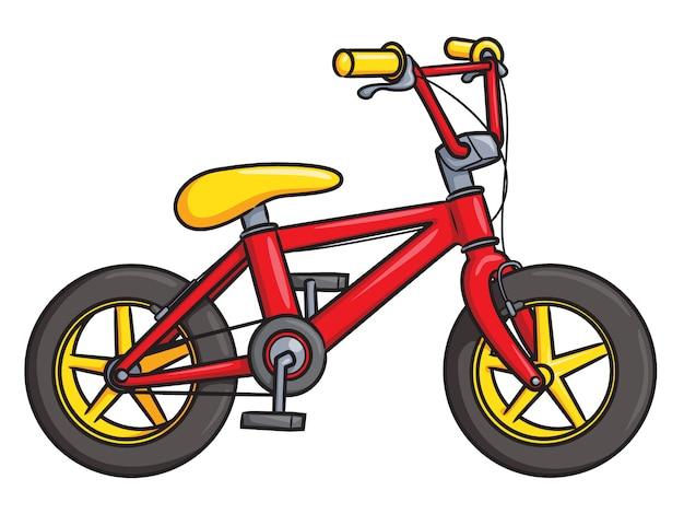 Cartone animato di biciclette