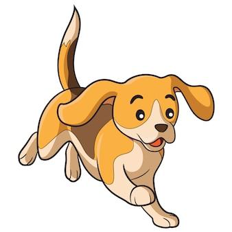 Cartone animato di cane