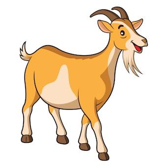 Cartone animato di capra